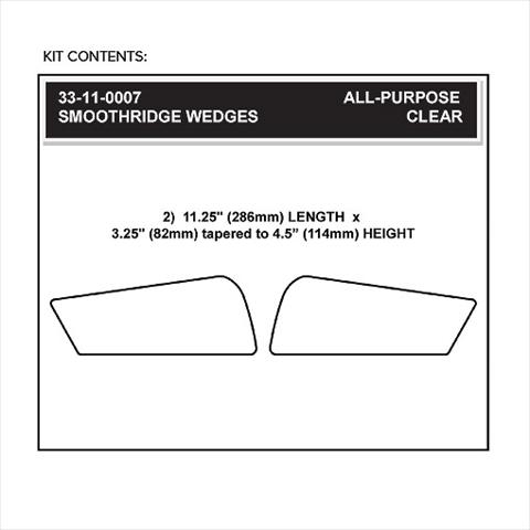 【STOMPGRIP】59-10002B 通用型 特殊型油箱止滑貼