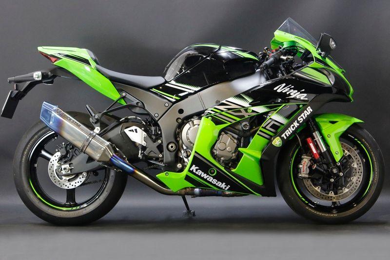 【TRICK STAR】Racing Slip-on 排氣管尾段 附焼色排氣管 Ver.
