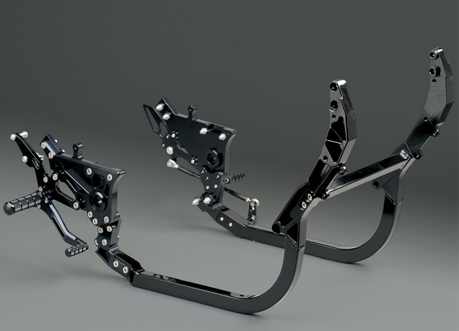 【NITRO RACING】組合套件3(下管&腳踏後移)