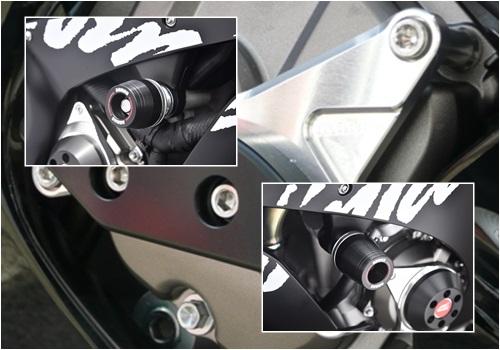 【AGRAS】Racing 保護滑塊 (防倒球) 3件組