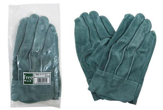 【MITANI】#CS-400 背接縫油牛二層皮手套
