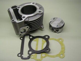 【KN企劃】加大缸徑套件 58.5mm 鍛造活塞 (高壓縮比)
