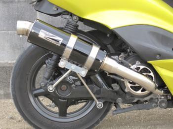 【KN企劃】Hot Lap  Type109 黑色全段排氣管  CygnusX (O2 Sensor車輛)