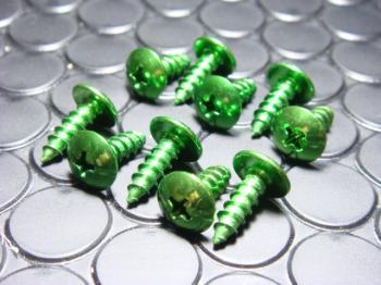 鋁合金自攻螺絲 (5mm 綠色)