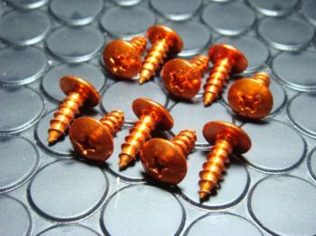 鋁合金自攻螺絲 (5mm 橙色)