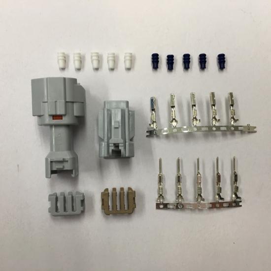 【K-FACTORY(K工廠)】頭燈LED燈泡用接頭套件(H4)