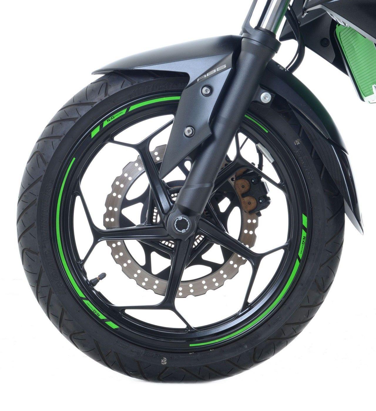 【R&G】16-Piece 摩托車輪圈貼紙