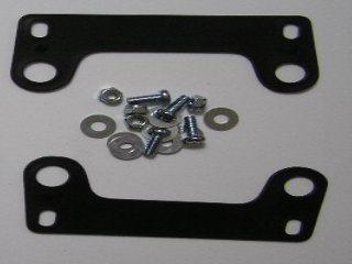 【KN企劃】MotoCross 頭燈整流罩  垂直型 Type2  (黑色)
