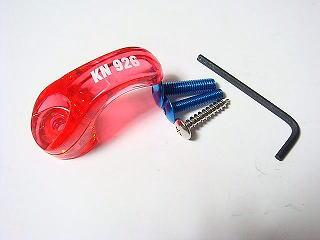 【KN企劃】通用型掛鉤 透明紅色