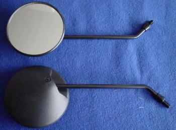 【KN企劃】圓型後視鏡 (螺桿直徑 8mm/左右組) - 「Webike-摩托百貨」