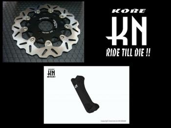 【KN企劃】加大煞車碟盤套件 含3D卡鉗座