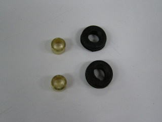 【KN企劃】全段排氣管 維修用 保護滑塊 (防倒球)
