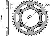 【PBR】ACB 37齒鋼製後齒盤/ 520鏈條