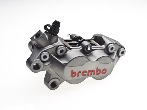 【brembo】MOTO-OES 對4卡鉗30/34/鎳/紅/左