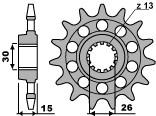 【PBR】PBR 17齒鋼製前齒盤/ 520鏈條