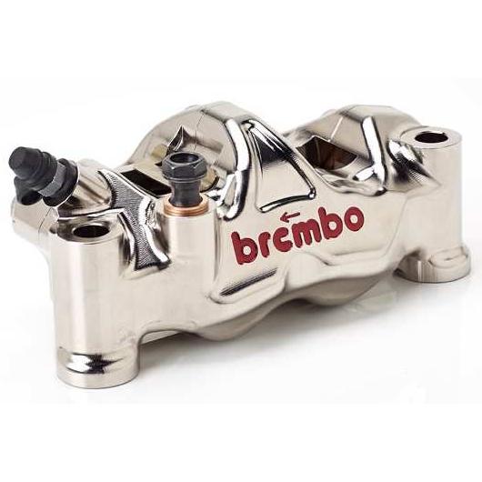 【brembo】P4 32/32 130mm GP4 RX130 CNC切削加工 輻射煞車卡鉗套件  (左右組)