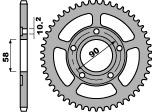 【PBR】ACB 38齒鋼製後齒盤/ 520鏈條/ HONDA 520 NSR125R