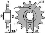 【PBR】ACB 15齒前齒盤/ 530鏈條/ VFR800FI Honda V-TEC