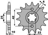 【PBR】PBR 15齒前齒盤/ 520鏈條/ Honda NX650J DOMINATOR