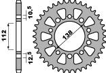 【PBR】ACB 41齒鋼製後齒盤/ 520鏈條