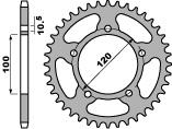 【PBR】ACB 44齒鋼製後齒盤/ 520鏈條/ Aprilia Pegaso 650 Strada
