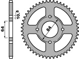 【PBR】ACB 51齒鋼製後齒盤/ 428鏈條/ Suzuki RV125 VANVAN