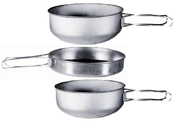 【belmont】不銹鋼食器3個組套