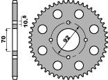 【PBR】ACB 44齒鋼製後齒盤/ 530鏈條