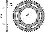 【PBR】ACB 40齒鋼製後齒盤/ 630鏈條/ Kawasaki GPZ1000 RX