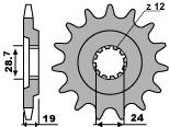 【PBR】PBR 15齒前齒盤/ 630鏈條/ Kawasaki GPZ1000 RX