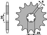 【PBR】PBR 14齒鋼製前齒盤/ 520鏈條