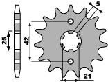 【PBR】PBR 16齒標準型前齒盤/ 520鏈條/ Yamaha XV 250 Virago