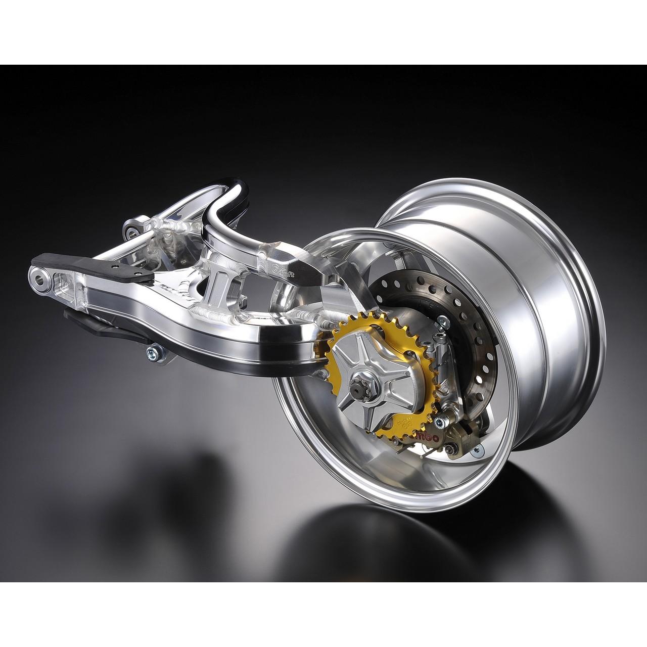 【G-Craft】單邊型後搖臂10英吋5.5J - 「Webike-摩托百貨」