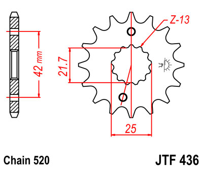 【JT SPROCKETS】前齒盤