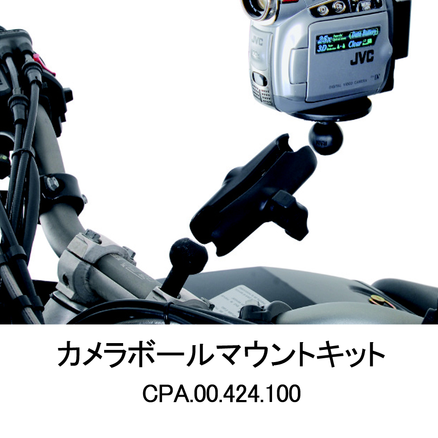 【SW-MOTECH】攝影機安裝球套件