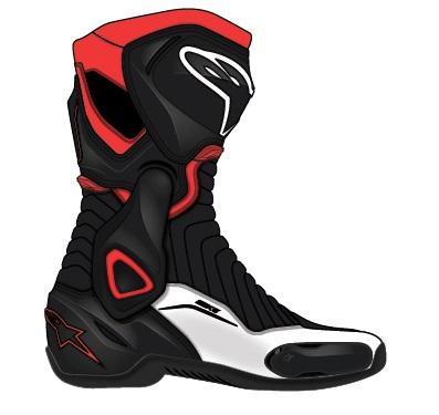 【alpinestars】SMX-6 BOOT [SMX-6 車靴] - 「Webike-摩托百貨」