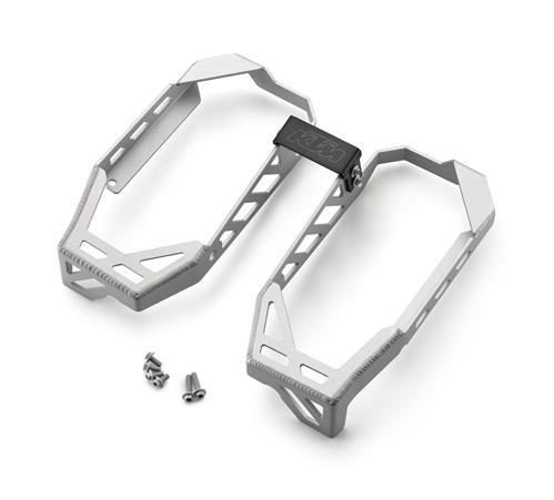 【KTM POWER PARTS】鋁合金散熱器水箱護罩