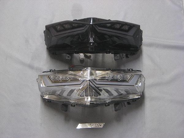 【M-SOUL】LEVEL10 LED車尾燈殼(流動式方向燈)