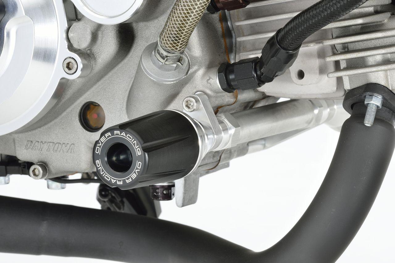 【OVER】引擎保護滑塊 (防倒球)