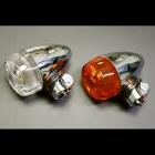【PMC】砲彈型 方向燈 (橙色/電鍍)