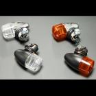 【PMC】砲彈型 迷你方向燈 (橙色/黑色)