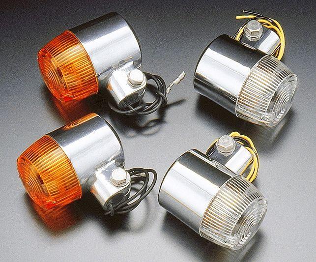 CB72 Type 48φ 方向燈 (橙色/電鍍)