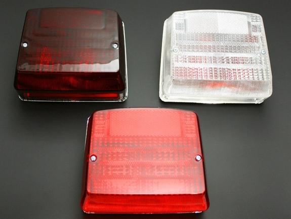 MKII/Z750FX-I  尾燈 只有燈殼 (燻黑)