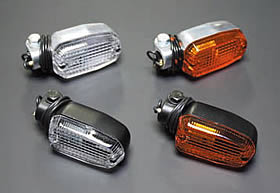 方型方向燈 (橙色/黑色)