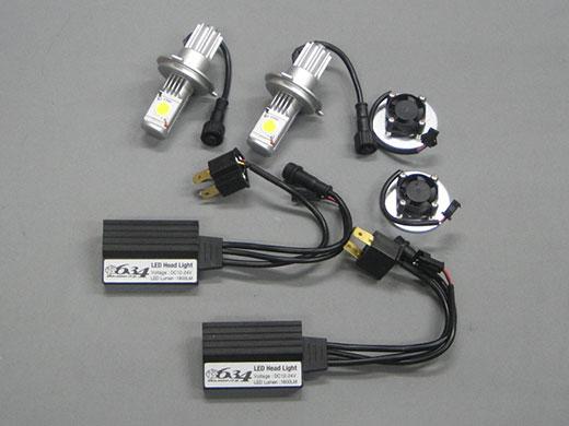 【M-SOUL】通用型LED大燈燈泡 (雙顆) - 「Webike-摩托百貨」