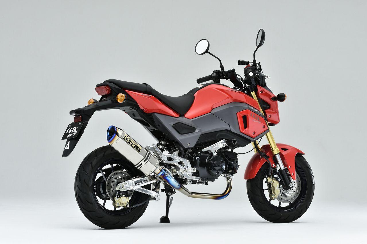 【OVER】TT-Formula RS 全鈦合金 聲音調節 只有排氣管【維修配件】