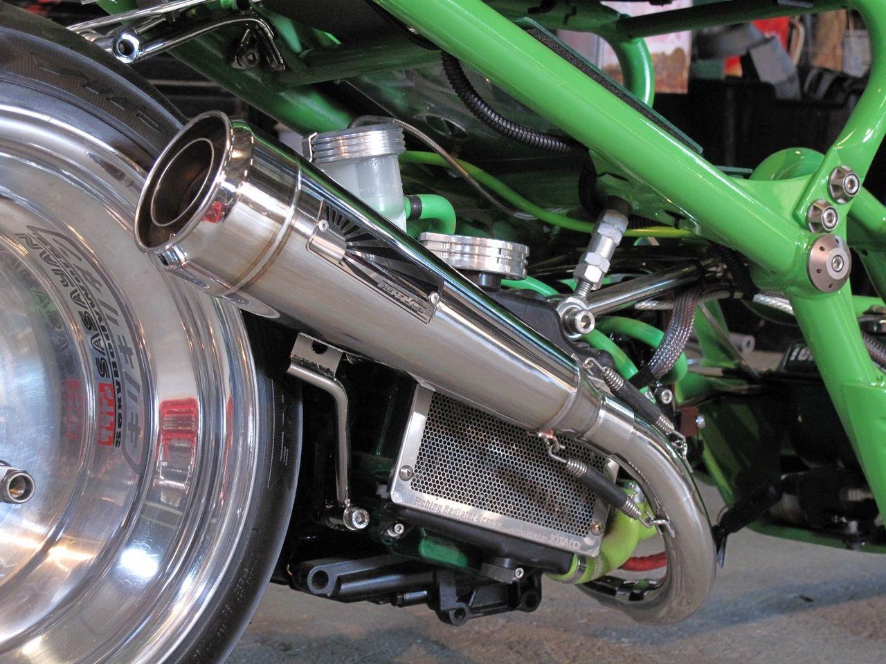 【HOT LAP】Sidewinder 全段排氣管 Type 1