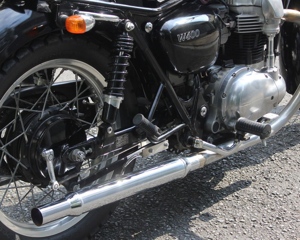 W650/W400 Cigar 排氣管尾段 電鍍