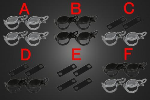 【Garage T&F】Plain Stretch方向燈(四個一組)普通型支架F - 「Webike-摩托百貨」