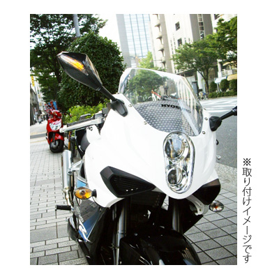【JP Moto-Mart】LED Aero方向燈後視鏡 SS1 - 「Webike-摩托百貨」